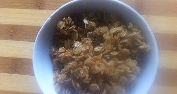 Slow cooker honey granola recipe based on the bbc goodfood recipe forumfinder Choice Image